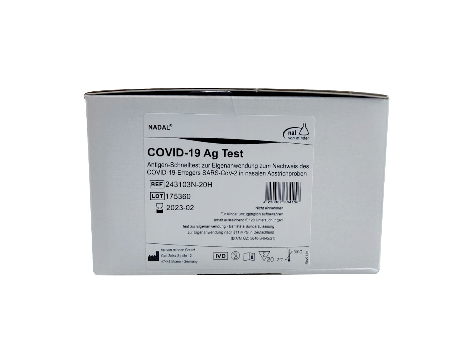NADAL® Covid-19 Ag Selbsttest