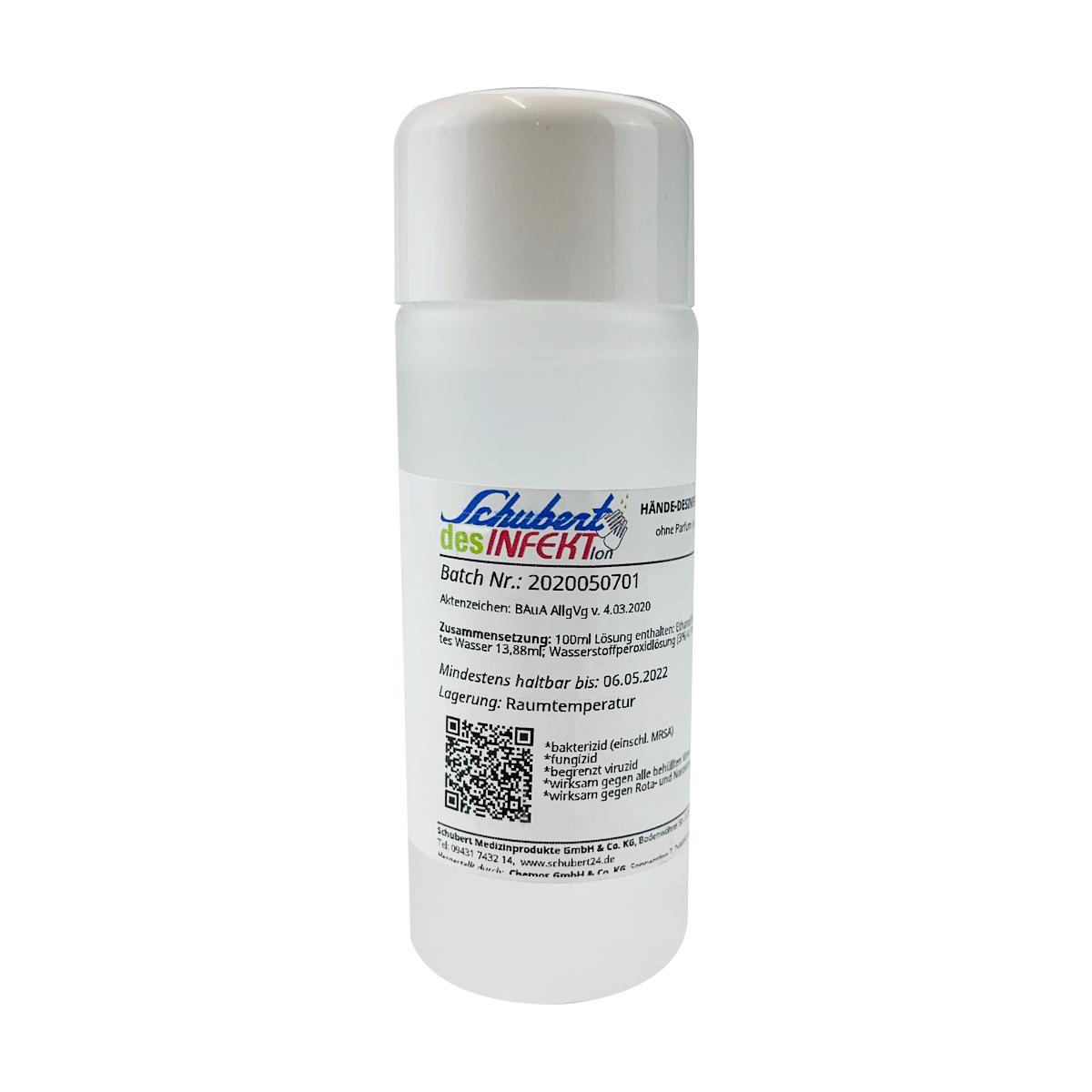 Händedesinfektion - Schubert desINFEKTion - 100 ml