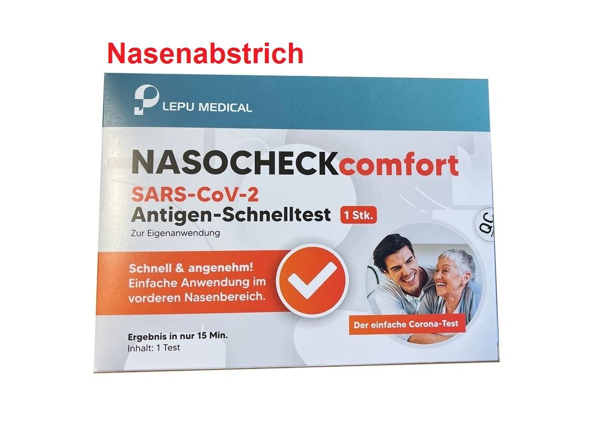 NASOcheck - Corona Schnelltest