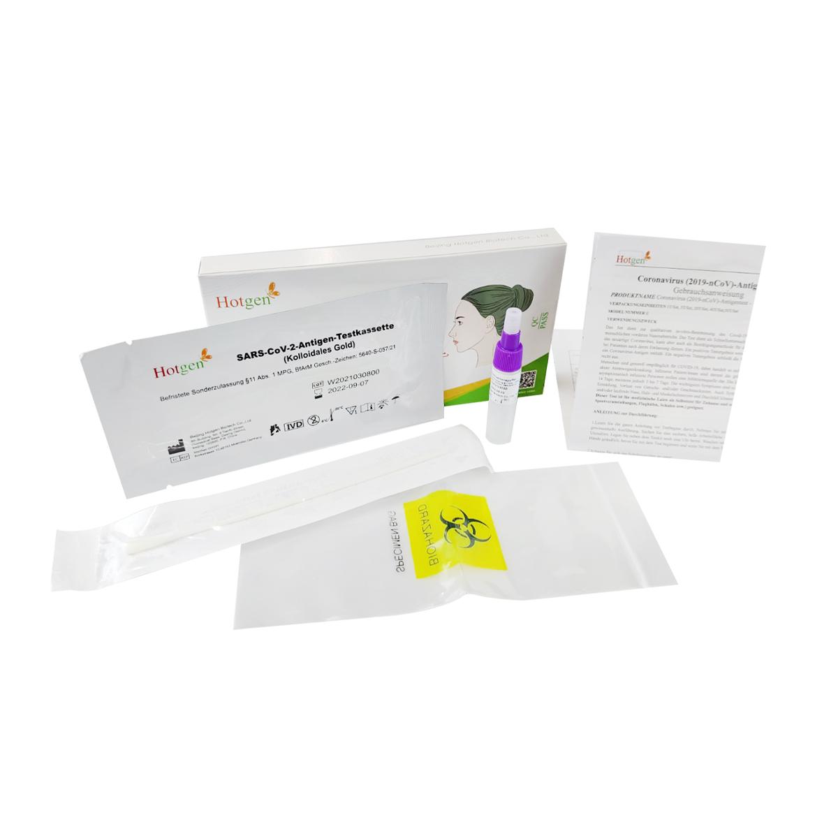 Hotgen Coronavirus - Antigen Schnelltest - Selbsttest (1 Stk)