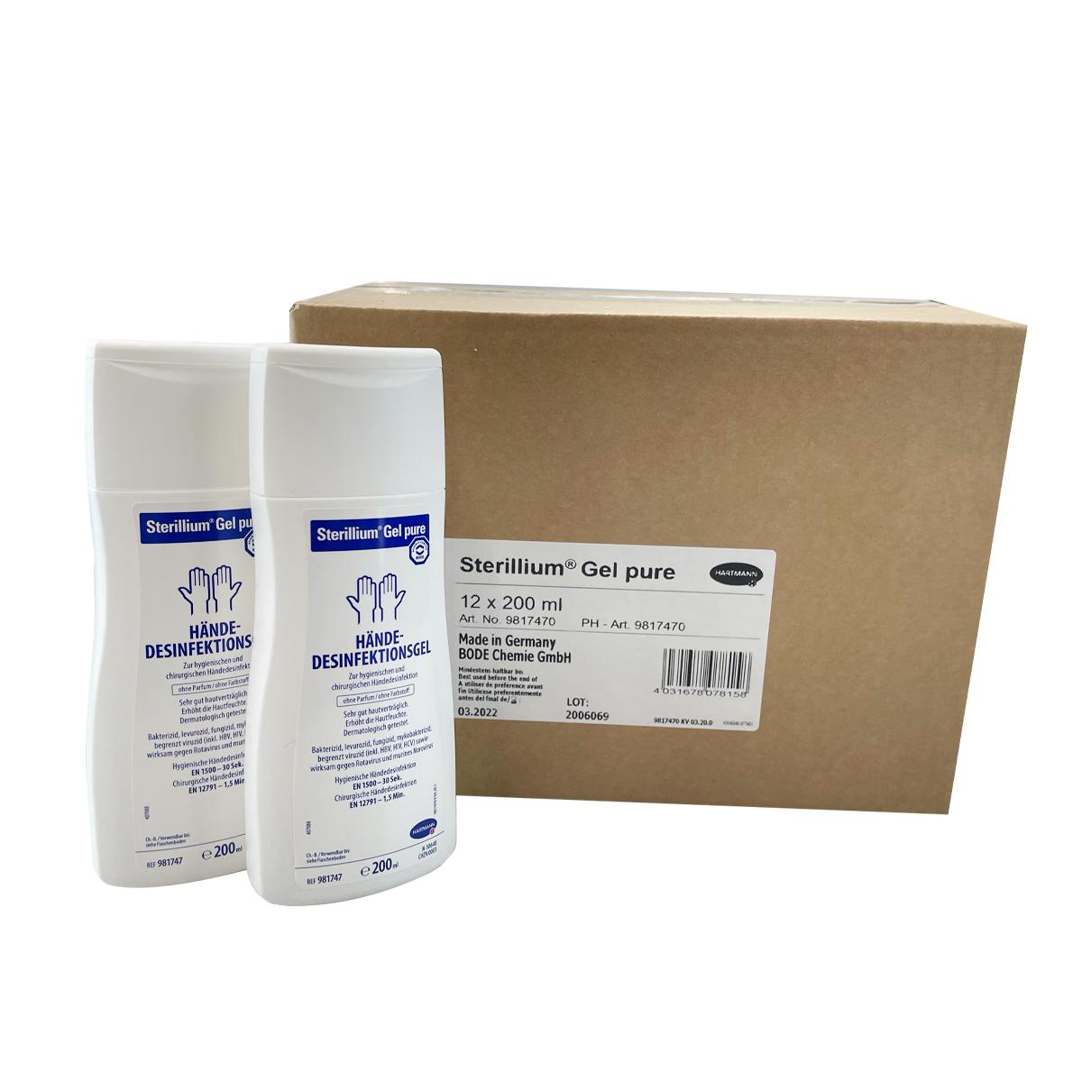 Händedesinfektion - Sterillium® Gel pure