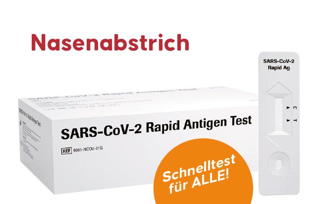 Antigen Schnelltest - Roche SARS-CoV-2 Rapid (25 Stk)