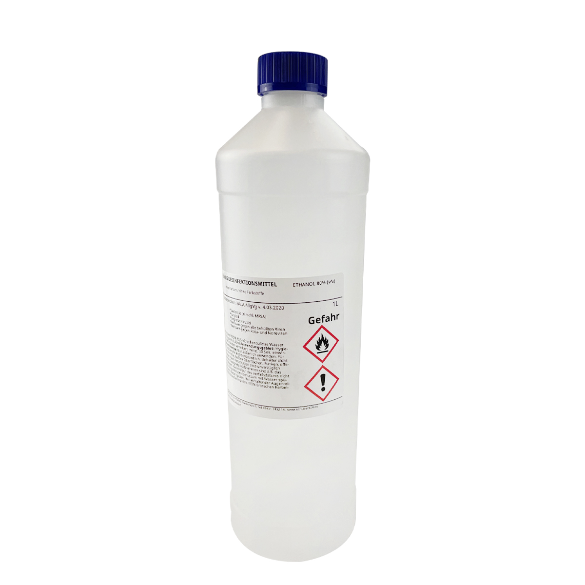 Händedesinfektion - Schubert desINFEKTion - 1000 ml/1 Liter
