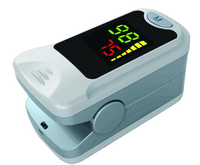 Fingerpulsoximeter - MS 20 - mit integriertem Fingersensor
