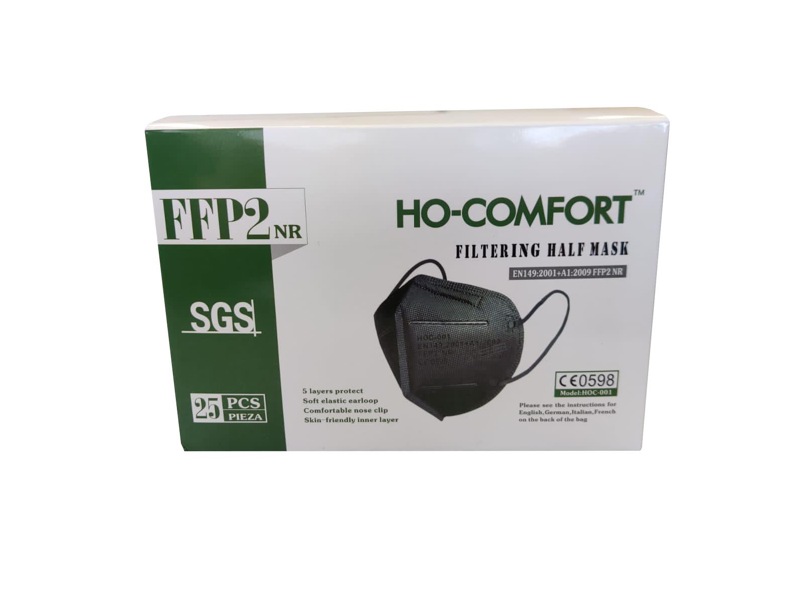 HO-COMFORT FFP2 Maske –schwarz-